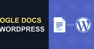 Google Docs to WordPress