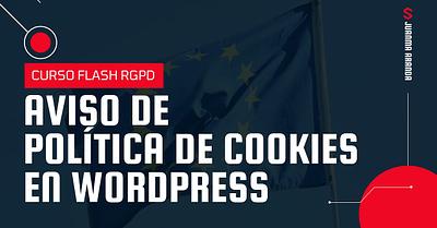 Aviso de cookies en WordPress