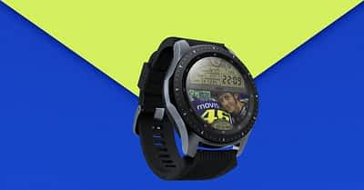 VR46 Inspired Watch Face Design