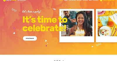 20 Best Party Making & Celebration Planning WordPress Themes