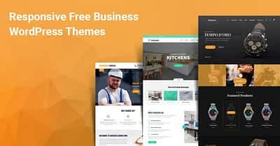 Top 25 Responsive Free WordPress Themes For Business 2020