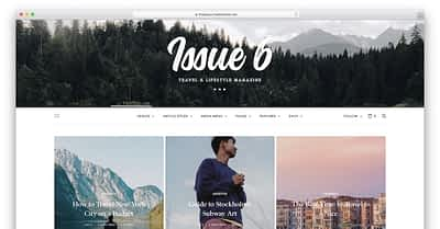 20 Colourful WordPress Themes for Blogs & Magazines 2020