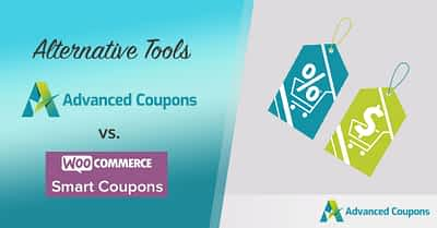 Advanced Coupons vs. WooCommerce Smart Coupons Plugin (Alternative Tool)