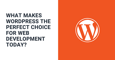 What makes WordPress the perfect choice for web development today?