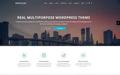 10+ Best Advertising Agency WordPress Themes of 2019