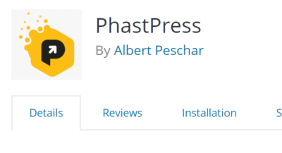 Using the PhastPress Plugin to Improve Site Performance