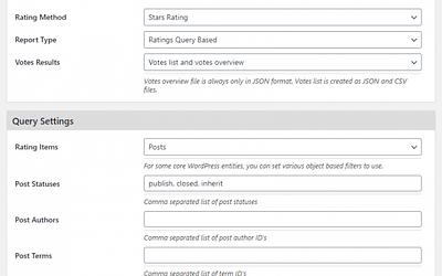 GD Rating System Pro: Analytics Addon 1.0