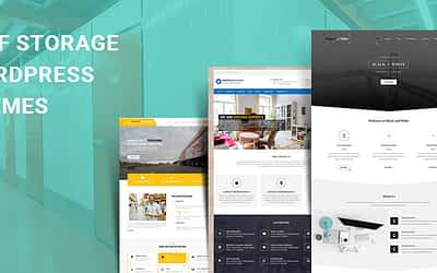 Self Storage WordPress Themes for Storage and Protection Facilities