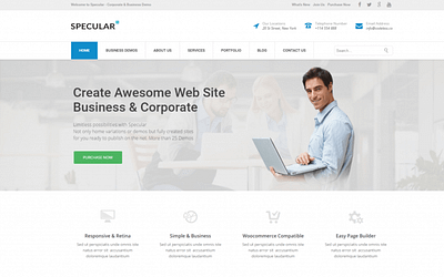 55+ Best WordPress Themes for Business in 2020 for Small Business, Corporation, Service Business & Consulting, Premium & Simple WordPress Themes