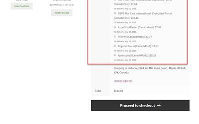 Easily Enable WooCommerce Shipment Tracking using WooCommerce Canada Post Shipping Plugin