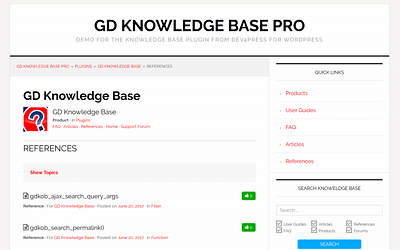 GD Knowledge Base Pro 4.2