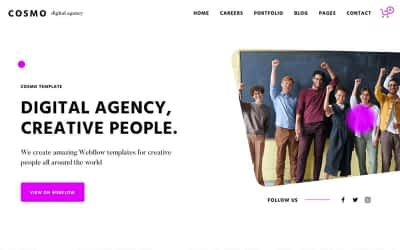 15+ Best Webflow Website Templates (Themes) to Start Building your Next Website with Ease