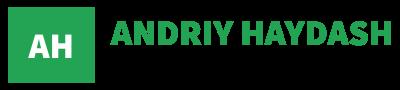 logo green gutter Andriy Haydash - Freelance WordPress Developer