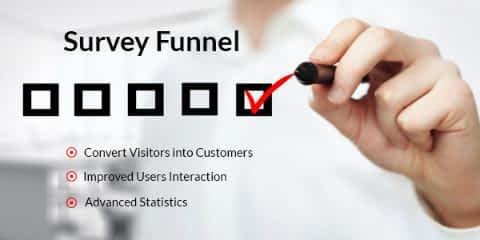 SurveyFunnel wordpress survey questionnaire plugin Deals and coupons
